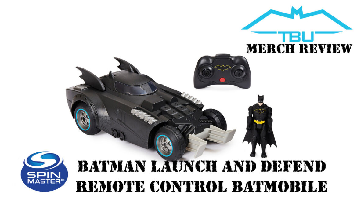 spin master launch and defend batmobile