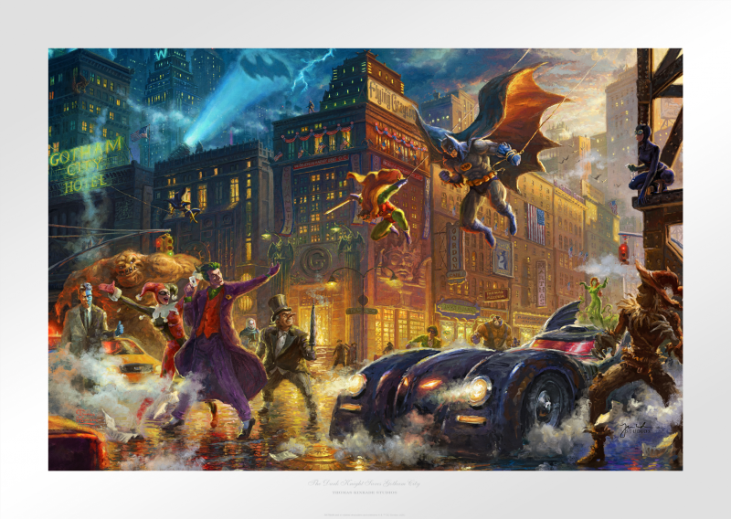 Thomas Kinkade Batman