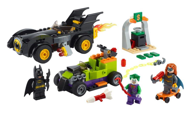 lego batman vs the joker batmobile chase