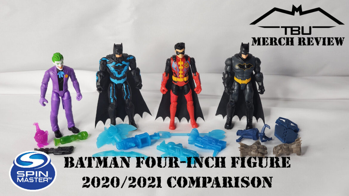 spin master four-inch figure review