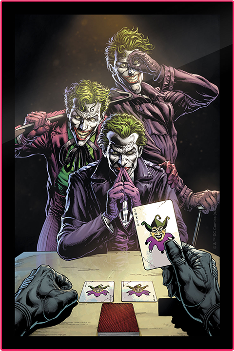 Brandlite Three Jokers LED Poster Sign