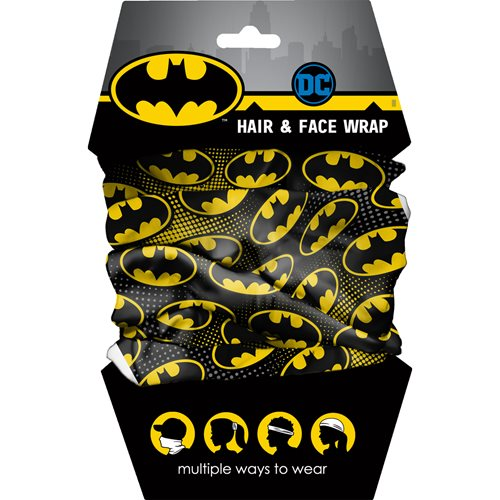 Spoontiques Batman Youth Hair and Face Wrap