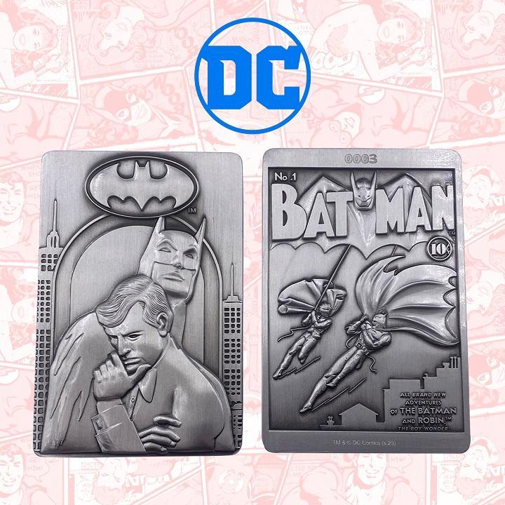 Fanattik Batman Collectible Plaque
