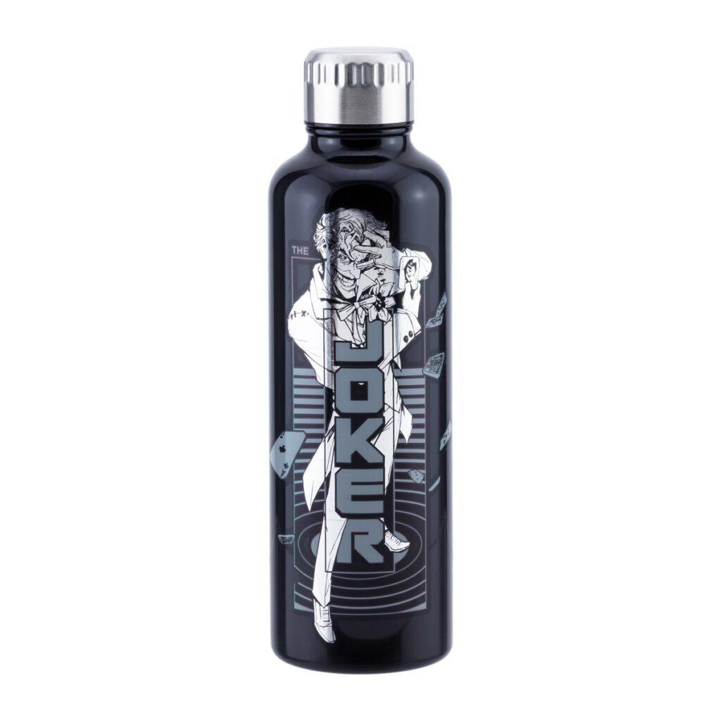 Paladone Batman/Joker 16oz Metal Water Bottle