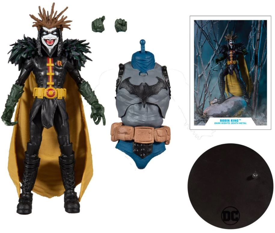 McFarlane Toys DC Multiverse Dark Nights: Death Metal Robin King
