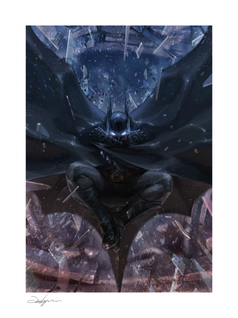 batmans grave art print