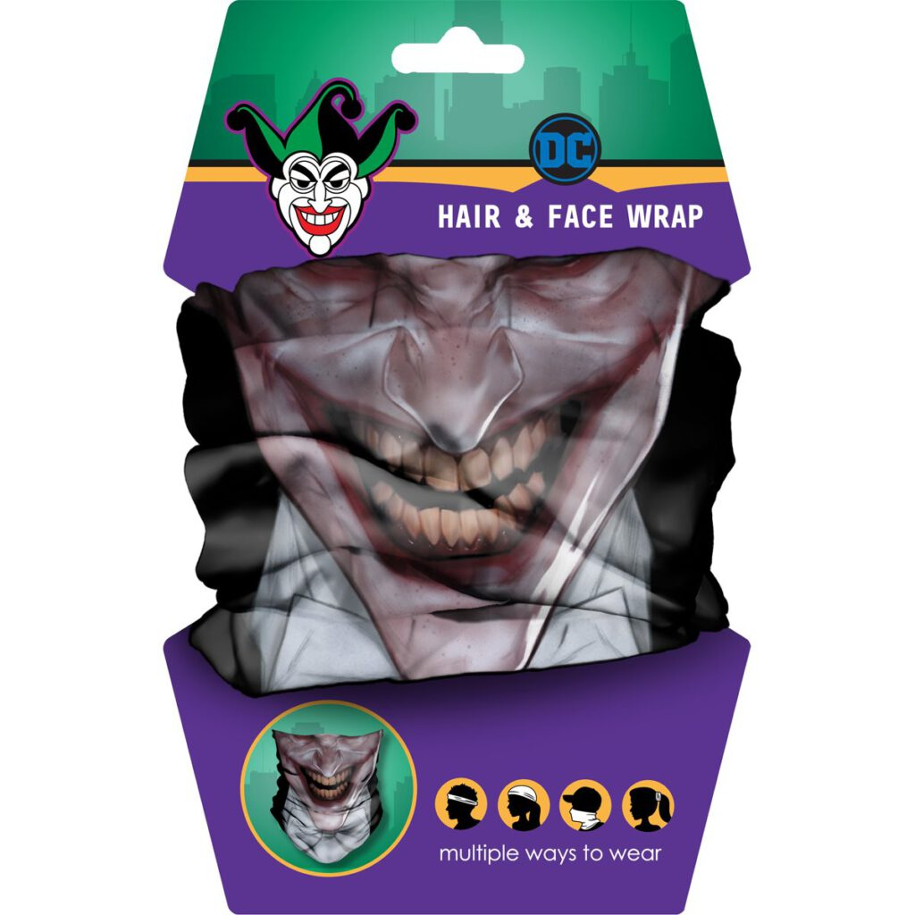Spoontiques Joker Hair and Face Wrap