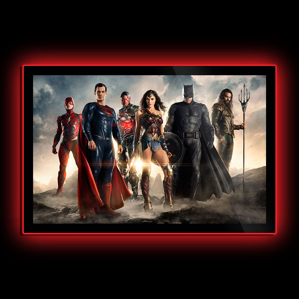 justice league led posters