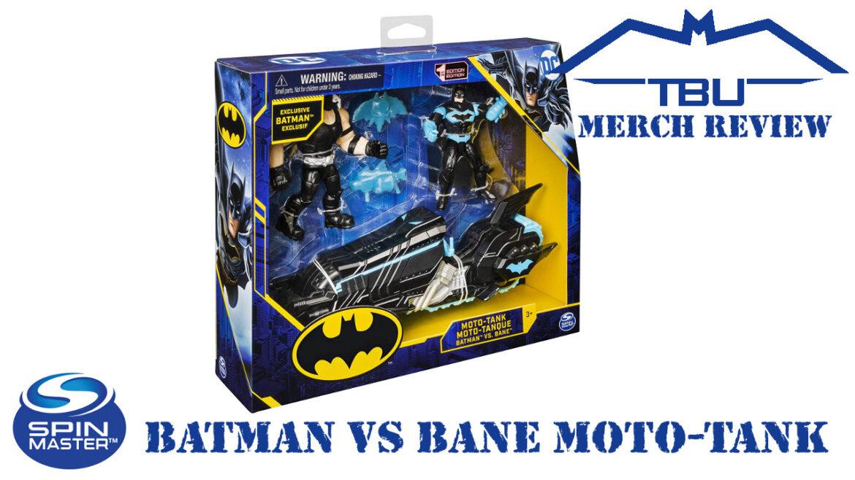 spin master batman moto-tank vs bane