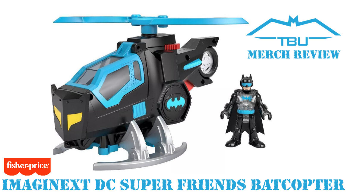 fisher-price imaginext batcopter