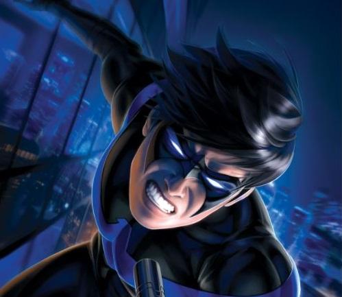 Sideshow Collectibles Warren Louw Nightwing Print