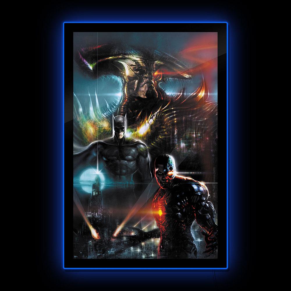 Brandlite Zack Snyder's Justice League Variant LED Poster Sign