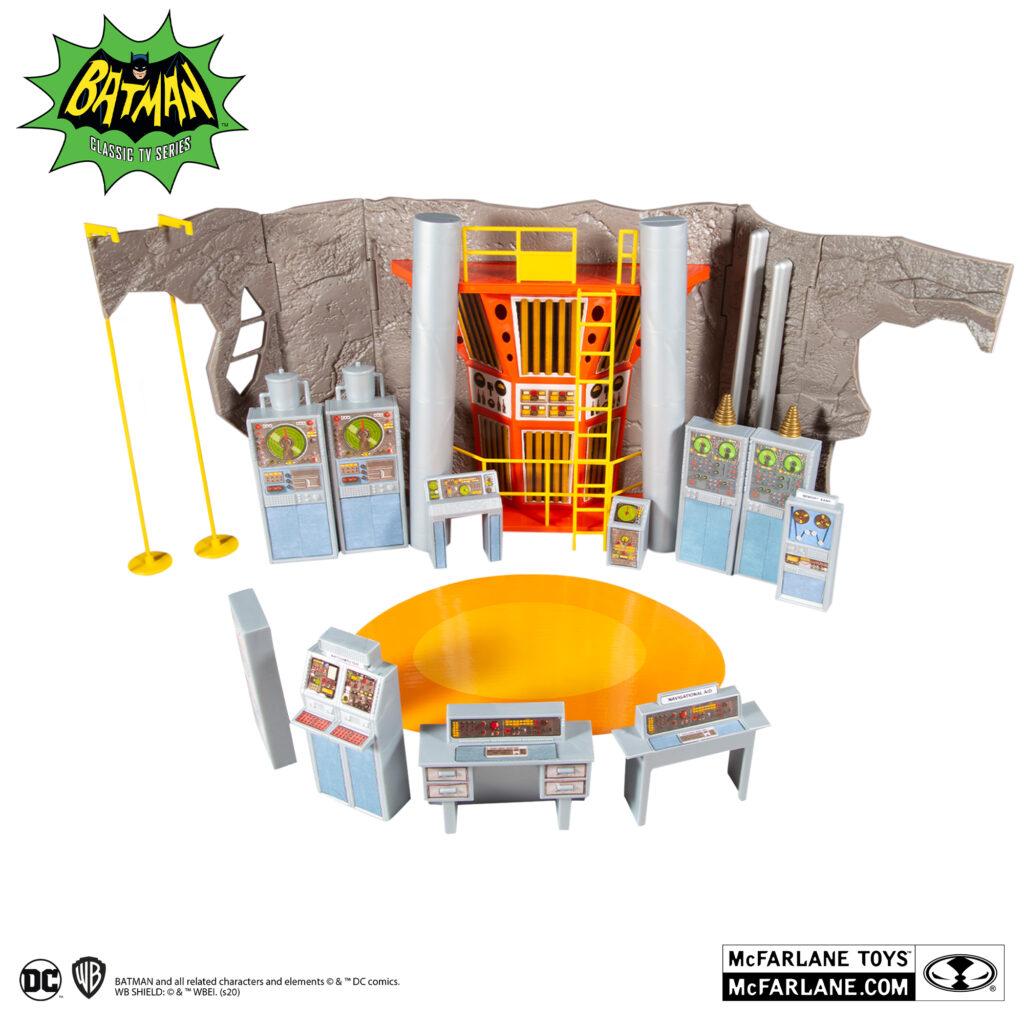 McFarlane Toys DC Retro Batman '66 Batcave Playset