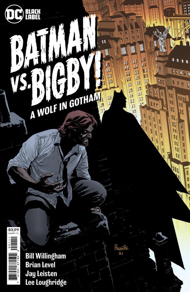 Batman vs. Bigby! A Wolf in Gotham Main Cover