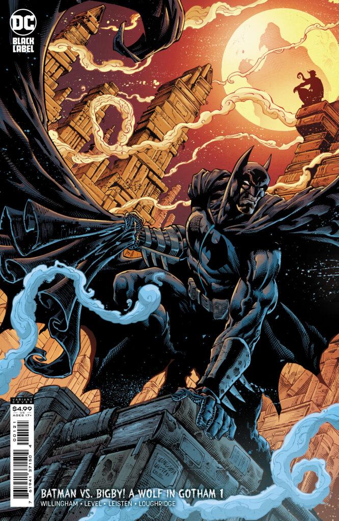 Batman vs. Bigby! A Wolf in Gotham Variant Cover