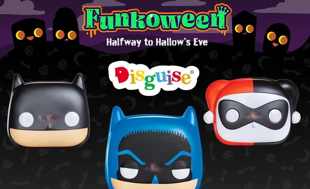 disguise funko pop batman masks