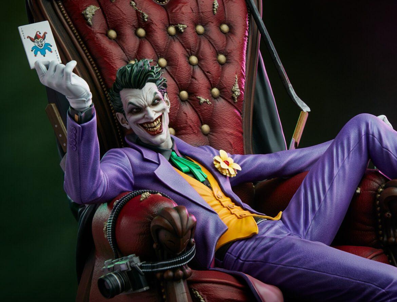 tweeterhead joker deluxe statue