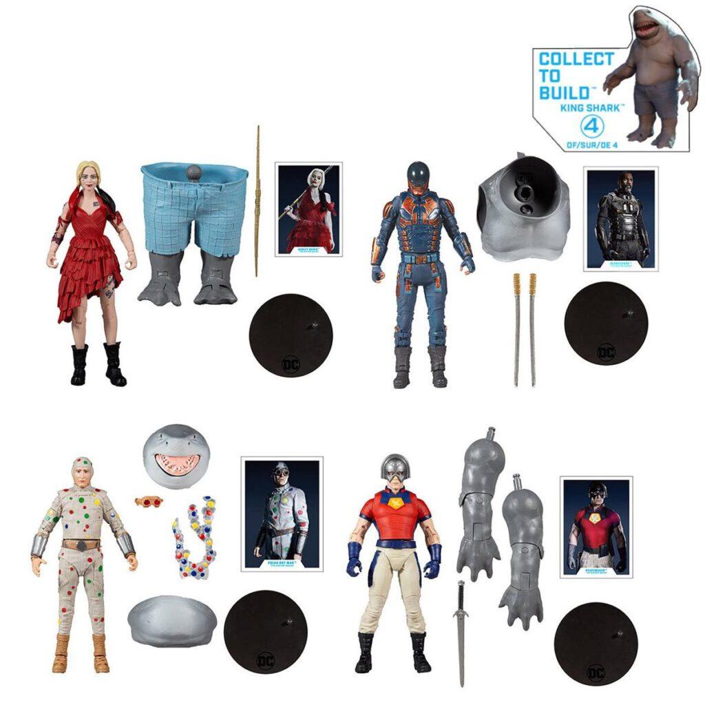 McFarlane Toys DC Multiverse The Suicide Squad Action Figure Case
