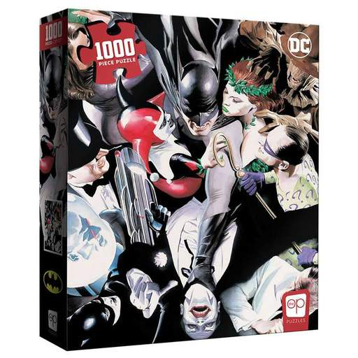 """USAOPOLY The Op Puzzles Batman """"Tango with Evil"""" Puzzle"""