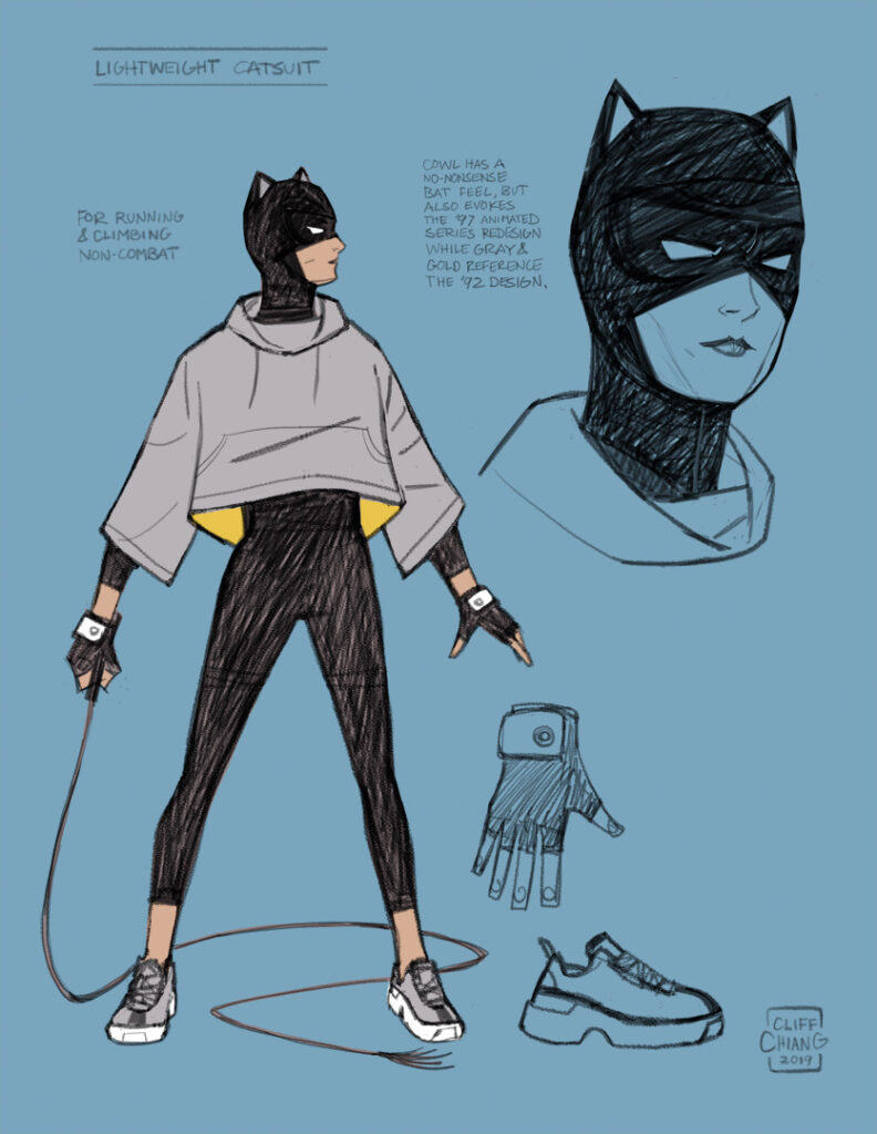 catwoman: lonely city concept