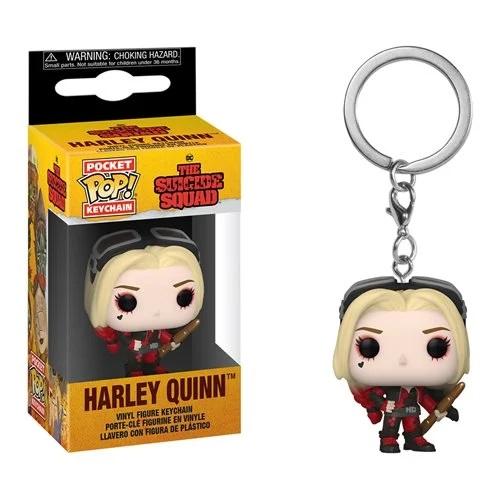 Funko The Suicide Squad Bodysuit Harley Quinn Pocket Pop Keychain