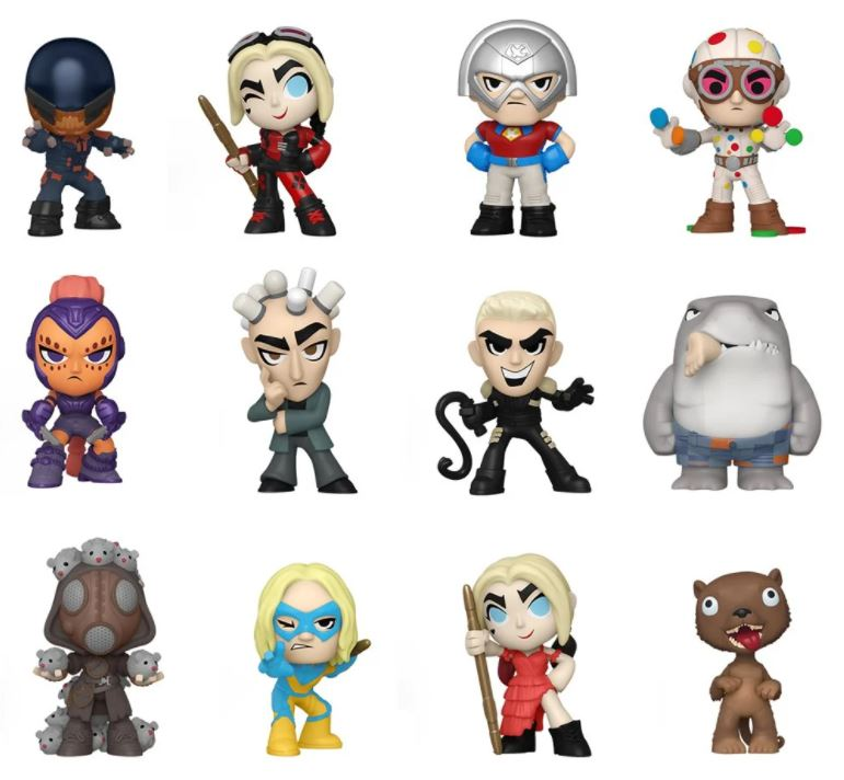 Funko The Suicide Squad Mystery Minis
