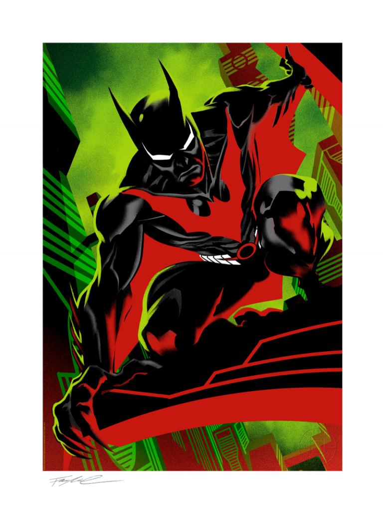 Sideshow Collectibles Batman Beyond by Francis Manapul Fine Art Print