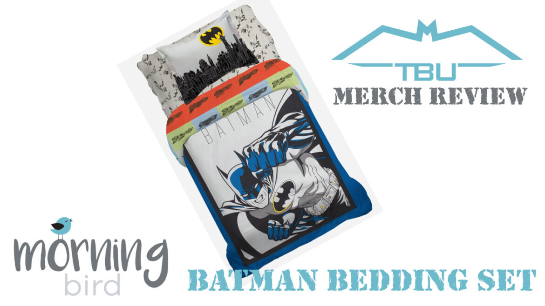 Morning Bird Batman Bedding Set
