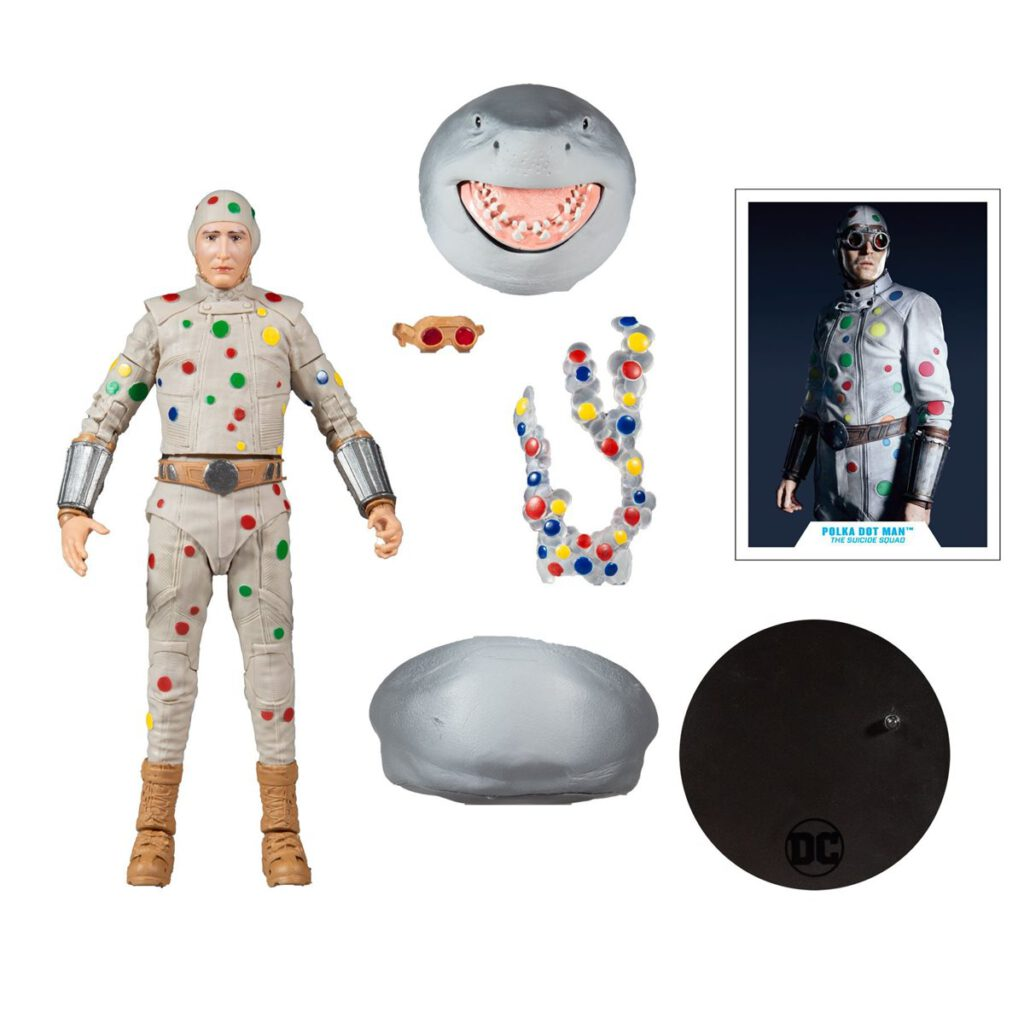 McFarlane Toy DC Multiverse The Suicide Squad Polka-Dot Man Action Figure
