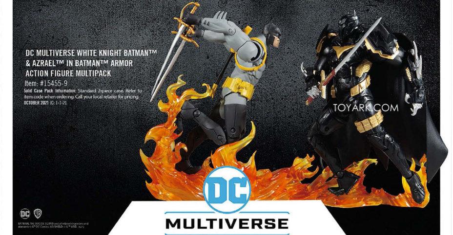 McFarlane Toys White Knight Batman vs Azrael
