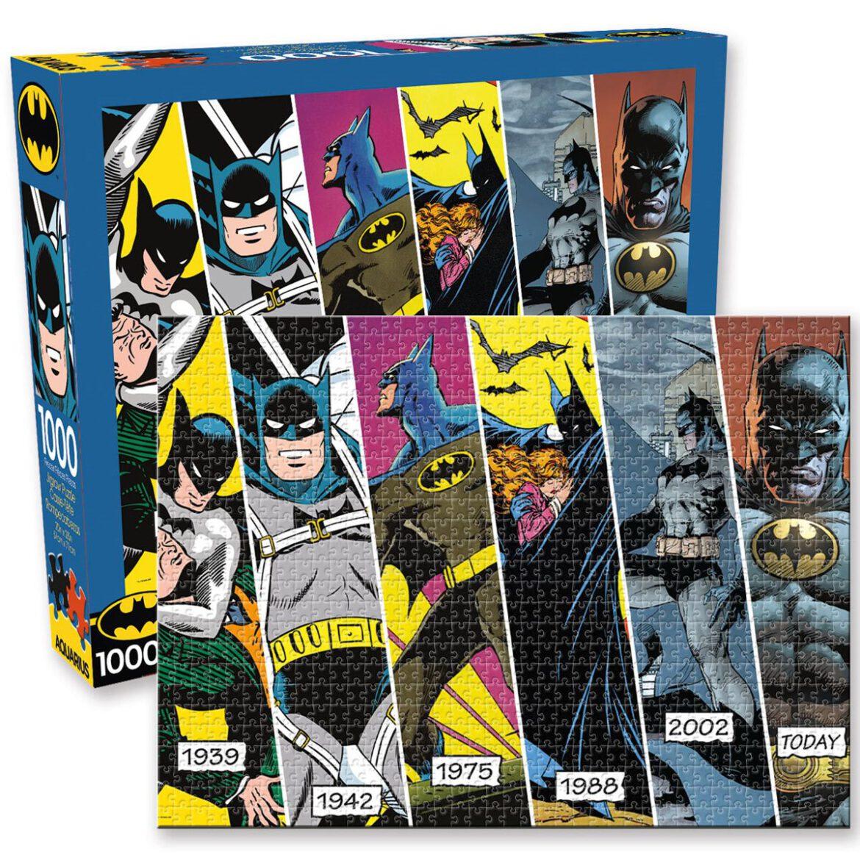Aquarius Batman Timeline 1,000 Piece Puzzle
