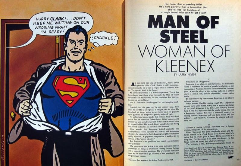 Man of Steel: Woman of Kleenex