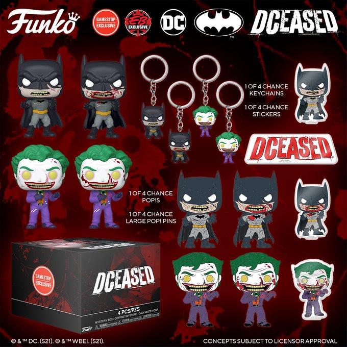 Funko DC DCeased Pop Mystery Box