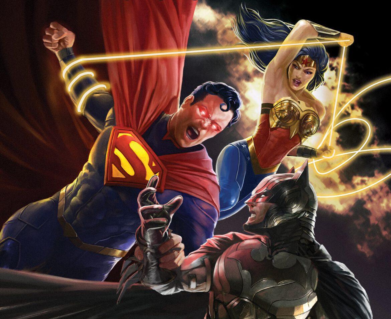 Injustice animated movie
