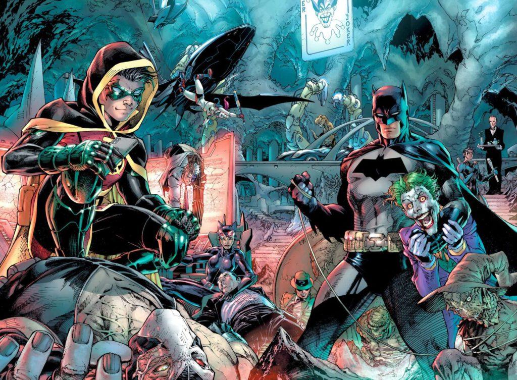 Jim Lee Detective Comics #1000 Print