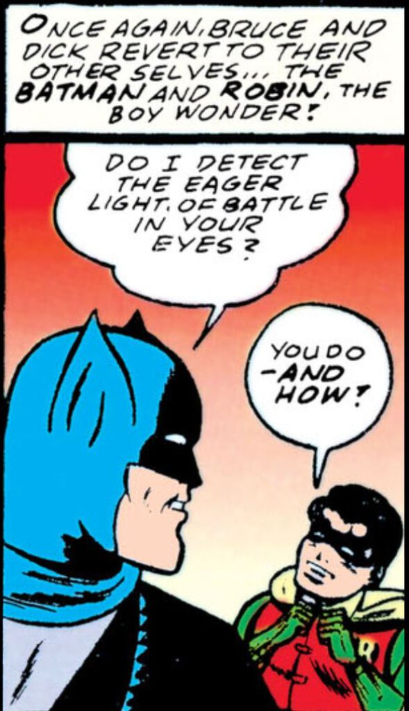 Batmans Seduction of the Innocent
