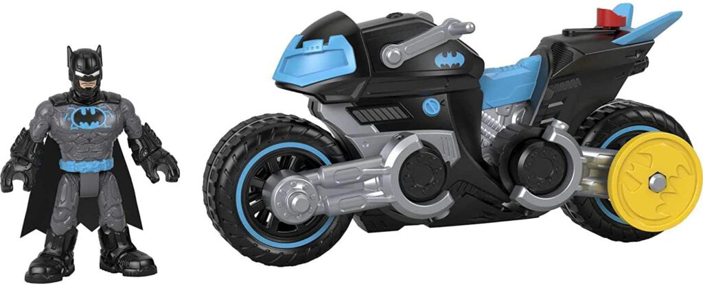 Fisher-Pice Imaginext Bat-Tech Batcycle