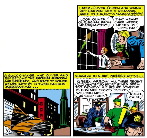 Green Arrow Batman Copycat
