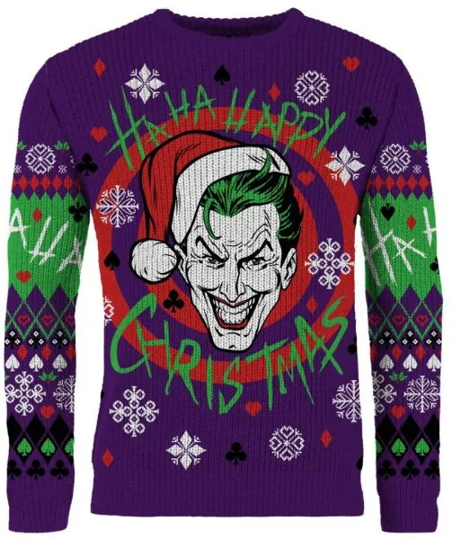 Merchoid Joker: Put On A Santa Hat Ugly Christmas Sweater/Jumper