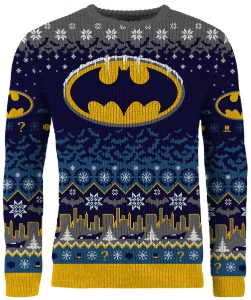 Merchoid Batman: Seasons' Beatings Ugly Christmas Sweater/Jumper