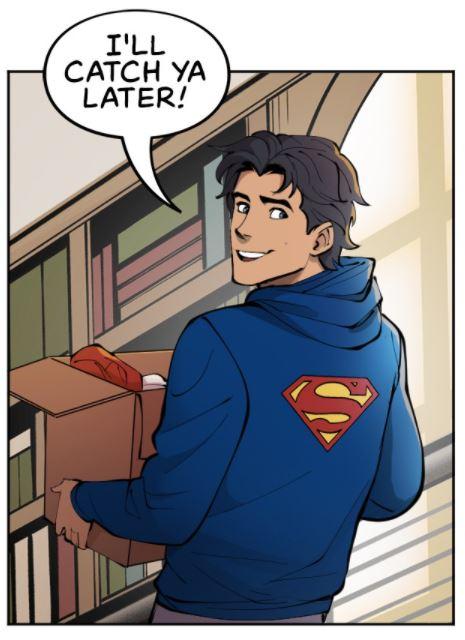 Batman: Wayne Family Adventure #6 Nightwing Superman Hoodie