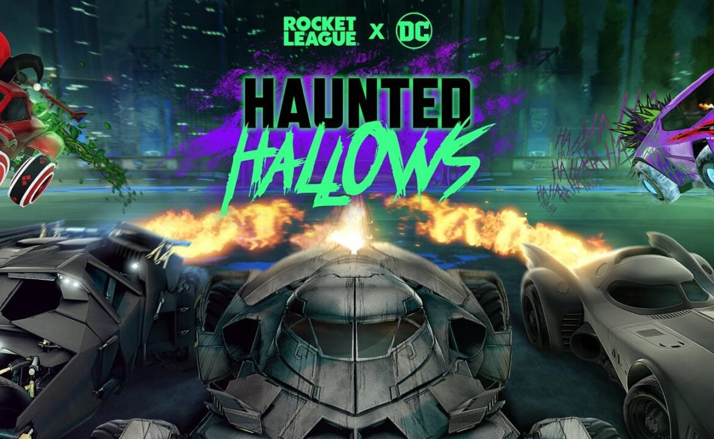 rocket league batman haunted hallows